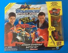 New OCTAGON SHOWDOWN BATTLE SET, BEYWARRIORS SHOGUN STEEL, POWERED BY BEYBLADE