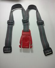 Peg Perego Orion Grey/Red Front Mount Child Seat bicycle Belt strap harness.