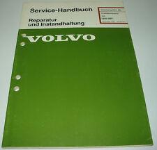 Werkstatthandbuch Volvo 340 / 343 / 345 / 360 Getriebe Kupplung Achsantrieb 1990
