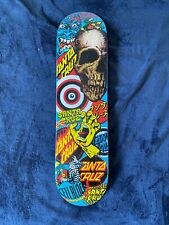 Santa Cruz Collage Skateboard Deck Creep Screaming Hand Slasher Rob Roskopp Rare