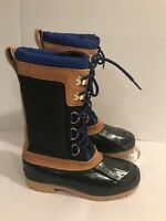 REI Women's Leather Boots Size 7 Black Removable Liners Lace Up Winter 117 023