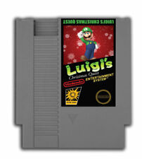 Luigi's Christmas Quest - Nintendo NES Game
