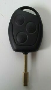 Ford Focus LR Fiesta complete key with remote and transponder ID60 2002-2007