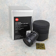 Leica 12013 21-24-28 Viewfinder BOXED Black anodized finish for 21 24 28 mm
