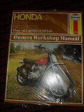 HAYNES MANUAL FOR HONDA XR 75 ALL MODELS