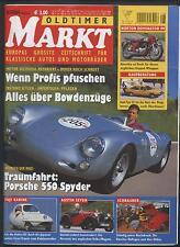 Oldtimer Markt 8/2004 Porsche 550 Spyder Audi 100 200 Mazda RX 8 Norton Austin
