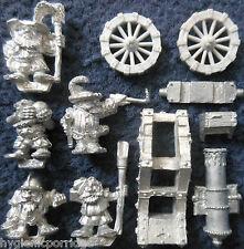 1989 Marauder Dwarf MM13 Siege Gun Cannon Citadel Warhammer Seige War Machine GW