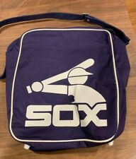 Vintage Chicago White Sox Baseball Lee Jeans Tote Bag 1980's