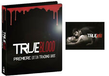 Official True Blood Binder with P3 Promo Card Premiere Anna Paquin Stephen Moyer