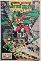 Secret Origins #19,33 Lot of 2 Justice League VF- 1983 GGA Back Story DC Comics