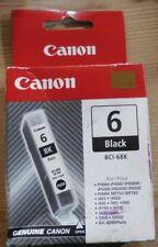 Original Canon bci-6bk encre Black Pixma ip3000 ip4000 ip5000 ip8500 4706a002
