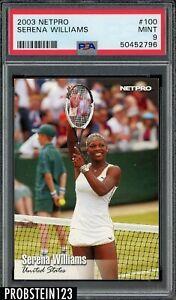 2003 Netpro Tennis #100 Serena Williams RC Rookie PSA 9 MINT