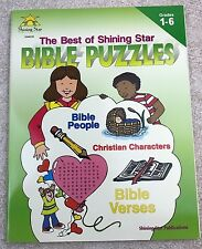Best of Shining Star Bible Puzzles Grades 1-6 Christian Education Book 1998