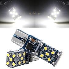 100Pcs White T10 W5W 921 194 168 15SMD Error Free LED Canbus Light Bulb 12V 24V