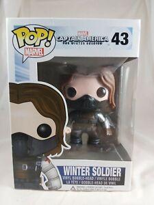 Marvel Funko Pop - Winter Soldier - Captain America The Winter Soldier - No. 43