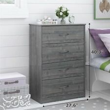 Dressers   Chests of Drawers   eBay Dresser With Drawers Wood Mainstays 4 Drawer Dressers Modern Bedroom Gray  029986541208. Drawers For Bedroom. Home Design Ideas