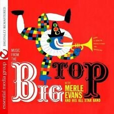 Merle Evans, Merle Evans & His All-Star Band - Music from Big Top [New CD] Manuf