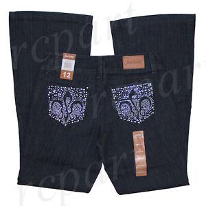New Jeans Colony Women's Jeans Denim Boot Cut Dark Blue US size 10 12 14 16