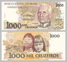 Brésil/Brazil 1000 cruzeiros 1991 p231c unz.