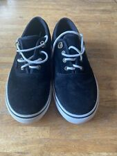 Kangol Black  Suede Trainers Size 7