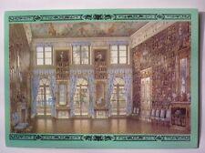 Vintage Russian Postcard Petrodvorets Peterhof Picture Hall