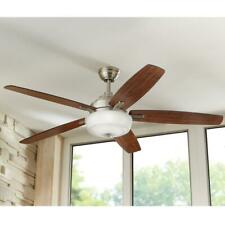 Home Decorators Sudler Ridge 60 in. LED Indoor Brushed Nickel Ceiling Fan