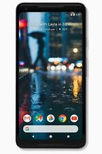 """New Open Box Google Pixel 2 XL 64GB Unlocked Black 6.0"""" Android P-OLED Cell"""