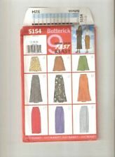 Butterick Sewing Pattern 5154 Misses Skirts Three Lengths Size 12-16