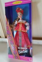 Russian Barbie Doll Dolls of the World  #16500 Collector Edition 1996 Mattel