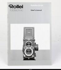 Manual for Rolleiflex 2.8 GX
