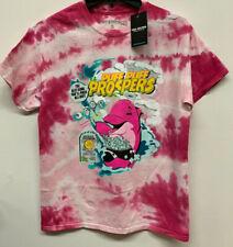 Pink Dolphin MEN Dolphin Crunch Tee tie dye pink white tshirt sz S-XL pink NEWT