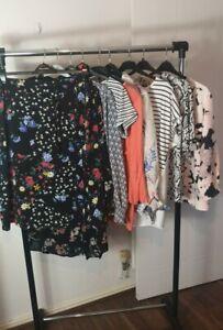 Womens Ladies Clothes Bundle Size 18 Midi Dress Blouse Shirt Top Skirt ZZ6