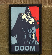 Dr Doom Morale Patch Marvel Tactical Tactical Military Army Badge Hook Flag