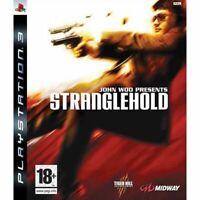 Jeu Stranglehold™ John Woo / Sony Playstation PS3 / Tiger Hill Midway Comme Neuf