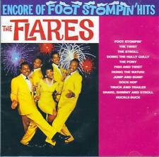 THE FLARES - ENCORE OF FOOT STOMPIN HITS  (NEW SEALED CD)