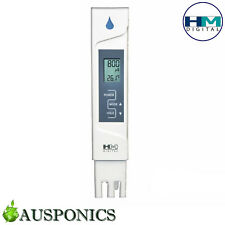 HM EC METER Digital AquaPro Quality Water Resistant Tester for Hydroponics