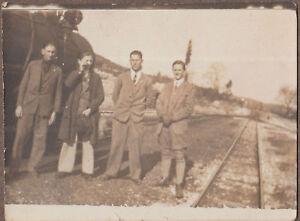 1920s Original Photo Album 22 photos Railways Train Macedonia Bitola Yugoslavia