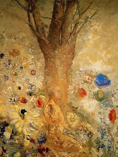 Buddah in His Youth  by Odilon Redon Paper Print Repro