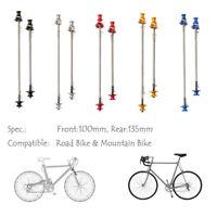 Super Light Titanium Ti MTB Road Bike Cycling Quick Release QR Skewer New O1Z9