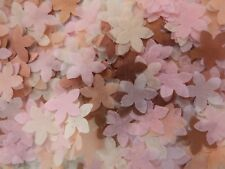 2000 Rose Gold/Copper Pink, Peach Ivory Wedding Party Confetti Flower Decoration
