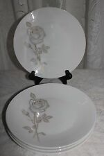Lot of 4 Rosenthal Continental DESIREE (CLASSIC ROSE COLLECTION) Salad Plates