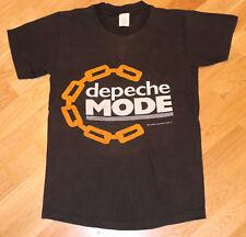 1984 DEPECHE MODE vintage concierto tour camiseta (S) 604ms rock nueva ola