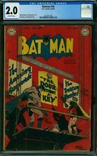 * BATMAN #54 (1949) CGC 2.0 (2044823006) *