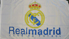 Club Real Madrid F.C Flag Banner 3x5 ft, New Blue White Merengues Bandera