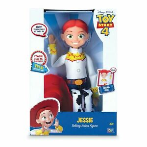 Toy Story 4 JESSIE TALKING ACTION FIGURE Cowgirl Disney Pixar - Original Voice!