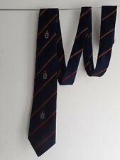 Vintage Mens Neck Tie 1980's Navy Blue by Neatwear London VGC