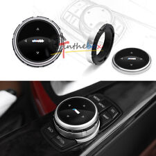 For BMW M1 2 4 6 7 3 GT5 X1 X3 X4 X5 IDRIVE Multi-Media Control Knob Cover Trim