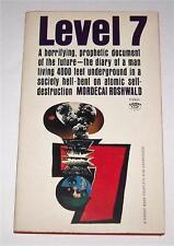 Level 7 Mordecai Roshwald 1959 Nuclear Atomic War 4000 Ft Underground Bomb Shelt