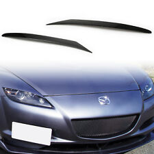 Eyebrows Eyelids For MAZDA RX-8 RX8 Headlight Covers Brows ABS