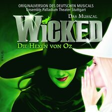 "ORIGINAL CAST MUSICAL ""WICKED DIE HEXEN VON OZ"" CD NEW+"